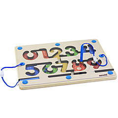 tanie Gry i puzzle-Gry planszowe Zabawki Kwadrat Drewniany Sztuk Dla obu płci Prezent