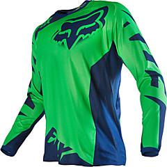 baratos Jaquetas de Motociclismo-Raposa motocicleta off-road t-shirt de mangas compridas andar de equitação velocidade fora os esportes ao ar livre casual wear