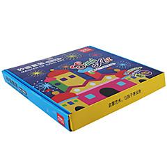 Sets zum Selbermachen Kunst & Malspielzeug Spielzeuge Quadratisch Farbe Heimwerken Kinder Jungen 1 Stücke