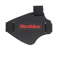 tanie Wyposażenie ochronne-Herobiker motocykl zmiany biegów zestawy powiesić blok gumowe buty zestawy zmiany biegów stalls pokrycie buta 1 szt