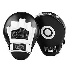 billige Boksing og kampsport-Boksing og Martial Arts Pad / Boksehansker Til Taekwondo, MMA, Kickboksing, UFC profesjonelt nivå, Hastighet, Holdbar PU 1 pcs Svart / Rød