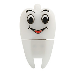 Hot cartoon novo smiley sace dentes usb2.0 32gb flash drive u memory stick disco