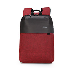 """billiga Laptop Bags-Oxfordtyg Affär / Ensfärgat Ryggsäckar 15 """"bärbar dator"""