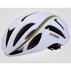 Moto Capacete Certificado Ciclismo N/D Aberturas Ajustável Esportivo Unisexo Ciclismo de Montanha Ciclismo de Estrada Ciclismo
