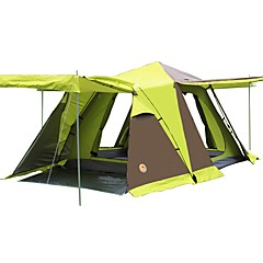 CAMEL 3-4 persons Tent Double Camping Tent One Room with Vestibule Fold Tent for CM