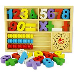 hesapli Matematik Oyuncakları-Legolar Oyuncak Abaküs Matematik Oyuncakları Eğitici Oyuncak Dörtgen Çevre-dostu Klasik Oyuncaklar Hediye