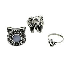 お買い得  ファッションリング-女性用 指輪 ベーシック 合金 ジュエリー カジュアル