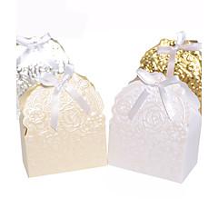 outros cartões de papel favor titular com fitas favor caixas-25 favores de casamento