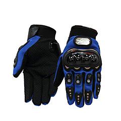 tanie Rękawiczki motocyklowe-Pełny palec Unisex Rękawice motocyklowe Włókno węglowe Oddychający
