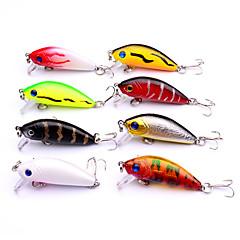 billiga Fiskbeten och flugor-8 pcs Fisketillbehör Hårt bete / Veva / Lock förpackningar Plast Lätt att använda Sjöfiske / Kastfiske / Spinnfiske / Färskvatten Fiske / Abborr-fiske / Drag-fiske