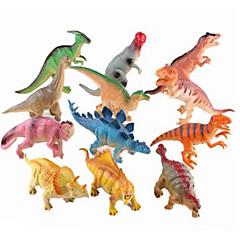 preiswerte Action & Spielfiguren-Drachen & Dinosaurier / Dinosaurier-Figur Jurassischer Dinosaurier / Velociraptor / Triceratops Silikon / Kunststoff Jungen Kinder Geschenk