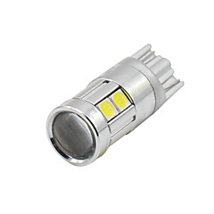 4x t10 2017 nieuw wit 9 3030 led auto auto wig lampen parkeerlamp lamp 12v-24v