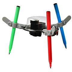 baratos -Robô Brinquedo de Arte & Desenho Brinquedos Máquina Robô Pintura Educação Faça Você Mesmo Plástico Crianças Unisexo Peças
