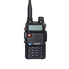 billige Walkie-talkies-TYT TH-UVF8 Håndholdt Stemmekommando / Strømskifter høy / lav / Type walkie-talkie 5-10 km 5-10 km 258 5 W Walkie Talkie Toveis radio