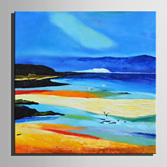 cheap Wall Art-Print Stretched Canvas - Landscape Retro