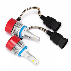 billige Frontlykter til bil-H8 H11 H9 Bil Elpærer W Integrert LED 3600lm lm LED Hodelykt