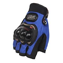 baratos Luvas de Motociclista-Luvas Esportivas Unisexo Luvas de Ciclismo Luvas para Ciclismo Protecção Sem Dedo Pele Luvas de Ciclismo