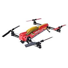 billige Fjernstyrte quadcoptere og multirotorer-RC Drone WL Toys V383 6CH 6 Akse 2.4G Fjernstyrt quadkopter En Tast For Retur / Auto-Takeoff / Hodeløs Modus Fjernstyrt Quadkopter /