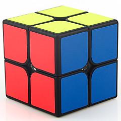 billiga Leksaker och spel-Rubiks kub MoYu 2*2*2 Mjuk hastighetskub Magiska kuber Utbildningsleksak Stresslindrande leksaker Pusselkub Lena klistermärken Present