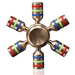 Handkreisel Handspinner Spielzeuge Sechs Spinner High-Speed Stress und Angst Relief Büro Schreibtisch Spielzeug Lindert ADD, ADHD, Angst,
