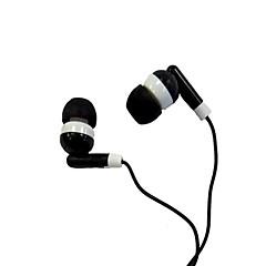 In-ear-koptelefoon met ruisonderdrukking voor iPod/iPod/phone/MP3 (Zwart)
