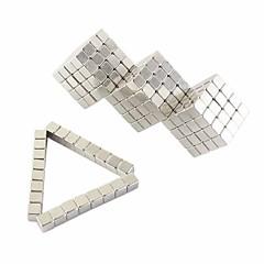tanie Zabawki magnetyczne-Zabawki magnetyczne Płytki magnetyczne Magnesy ziem rzadkich Gadżety antystresowe 128pcs 3mm Metal Klasyczny Classic & Timeless Focus Toy