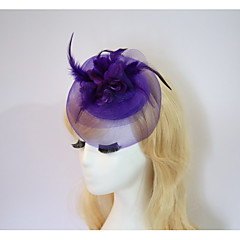 cheap Party Headpieces-Resin Cotton Fascinators Flowers Hats Headpiece Classical Feminine Style