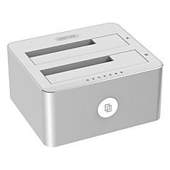 3,5 / 2,5 inch sata3 usb3.0 hardware box aluminiumlegering met 12v 3a voeding