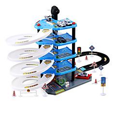 장난감 자동차 대리석 트랙 세트 장난감 3D 플라스틱 나무 고품질 조각 남자아이 어린이날 선물