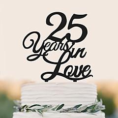 קישוטים לעוגה איכות גבוהה חתונה יום הולדת חתונה יומהולדת תיק PVC