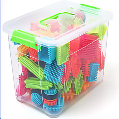 Puzzle Logcké a puzzle hračky Stavební bloky DIY hračky obdélníkový tvrdý plast