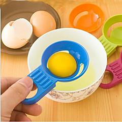 billige Eggeverktøy-candy farge egg separator egg hvit eggeplomme divider kjøkken bakeverktøy