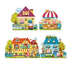 Puzzle Hračky Obdélníkový Jelen Dětské Pieces