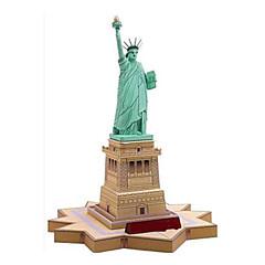tanie Gry i puzzle-Zabawki 3D / Papierowy model / Model Bina Kitleri Wieża / Znane budynki / Statua Wolności majsterkowanie Klasyczny Dla obu płci Prezent