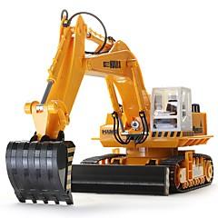 baratos Carros Controle Remoto-Carro com CR HUINA 680 11 canais 2.4G Escavadora 1:10 Electrico Escovado KM / H Controlo Remoto / Recarregável / Elétrico