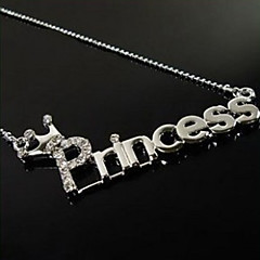 Women's Pendant Necklaces Zinc Alloy Basic Jewelry For Event/Party Dailywear Gift Sports Formal Cocktail Party