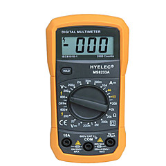 tanie Instrumenty elektryczne-MS8233A Mini Digital Multimeter 2000 Counts Display