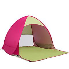 billige Telt og ly-COME 2 personer Strandtelt Telt Enkelt camping Tent Ett Rom Strandtelt Ultraviolet Motstandsdyktig Regn-sikker Støvtett til Camping &