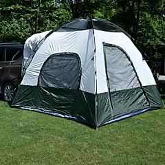 billige Telt og ly-3-4 personer Telt Trucktelt Dobbelt camping Tent Ett Rom Brette Telt Vanntett Ultraviolet Motstandsdyktig Regn-sikker Støvtett til