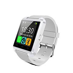 billige Smart teknologi-u8 smartwatch bluetooth svar og ring telefon passometer innbruddsalarm funcitons