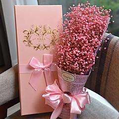 お買い得  パーティー用品-結婚式 記念日 贈り物 バレンタイン サンクスギビング 党好意&ギフト - ギフト ギフトボックス 造花 フラワー ドライ 環境に優しい素材 造花 サテン ガーデンテーマ フローラルテーマ 童話テーマ 誕生日
