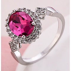 Ring Settings Ring Band Rings Women's Euramerican Luxury Elegant Geometric Wedding  Birthday Party  Movie Jewelry