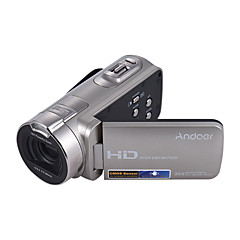 Andoer® hdv-312p 1080p HD מלא מצלמת וידאו דיגיטלית נייד לשימוש ביתי DV עם 2.7 אינץ 'מסתובב מסך LCD מקסימום