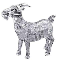 tanie Gry i puzzle-Zabawki 3D Puzzle Kryształowe puzzle Psy Wieża Konik Niedźwiedź Zwierzę 3D Tworzywa sztuczne Żelazo Dla obu płci Prezent