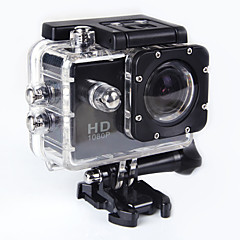 cheap Sports Action Cameras-4608 x 3456 Anti-Shock Wide Angle Full HD 1080p 1.5 inch 32GB H.264 English French German Spanish Russian Simplified Chinese Traditional