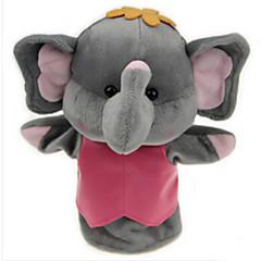 Měkké hračky Panenky Vzdělávací hračka Prstová loutka Hračky Rabbit Slon Medvěd Tiger Zvířata Dítě Pieces
