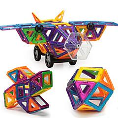 Bausteine Magnetische Blöcke Magnetische Gebäude-Sets Spielzeuge Flugzeug Bär Stücke Kinder Geschenk