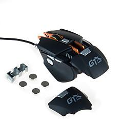 billiga Möss-AJAZZ AJAZZ-GTXPRO Kabel Gaming Mouse Justerbar vikt DPI justerbar 1000/2000/3000/4000