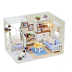 장난감 DIY 유명한 빌딩 집 건축 나무 조각 여성 생일 선물