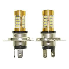 baratos -Sencart 2pcs h4 p43t lâmpada piscante led carro cauda volta lâmpadas de luz de luz reversa (branco / vermelho / azul / branco morno) (dc /